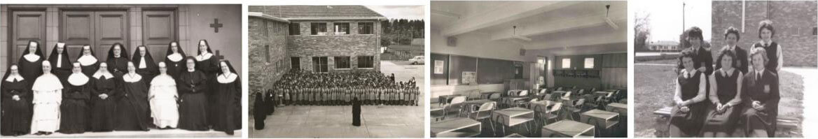Historical photos of Merici College